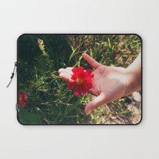 Hand Flower Laptop Sleeve