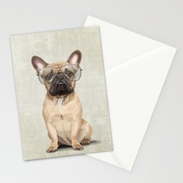 Mr French Bulldog Stationery Cards