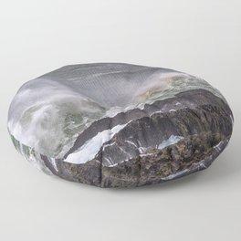 Splash of sea salt. Floor Pillow