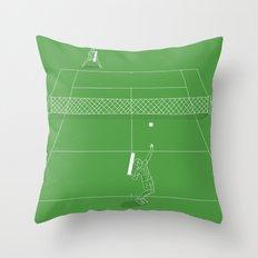 Game Point Throw Pillow