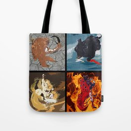 The Elemental Fiends Tote Bag
