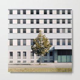 Urban pattern 1 - Modern Minimal Architecture photography Metal Print