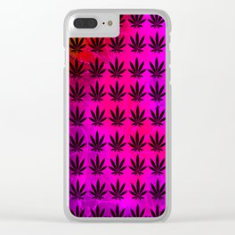 Berry Indica Clear iPhone Case