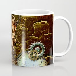 Steampunk, micropphone Coffee Mug