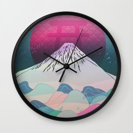 Dreaming of Japan Wall Clock