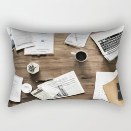 Business Work Table Rectangular Pillow