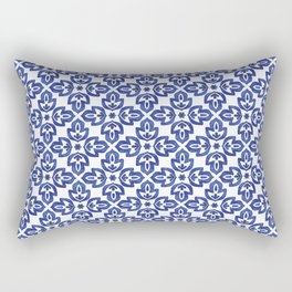 Flower and organic design Rectangular Pillow