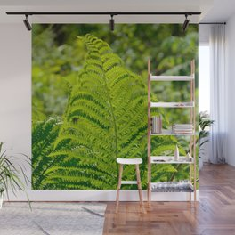 Green Fern by Teresa Thompson Wall Mural