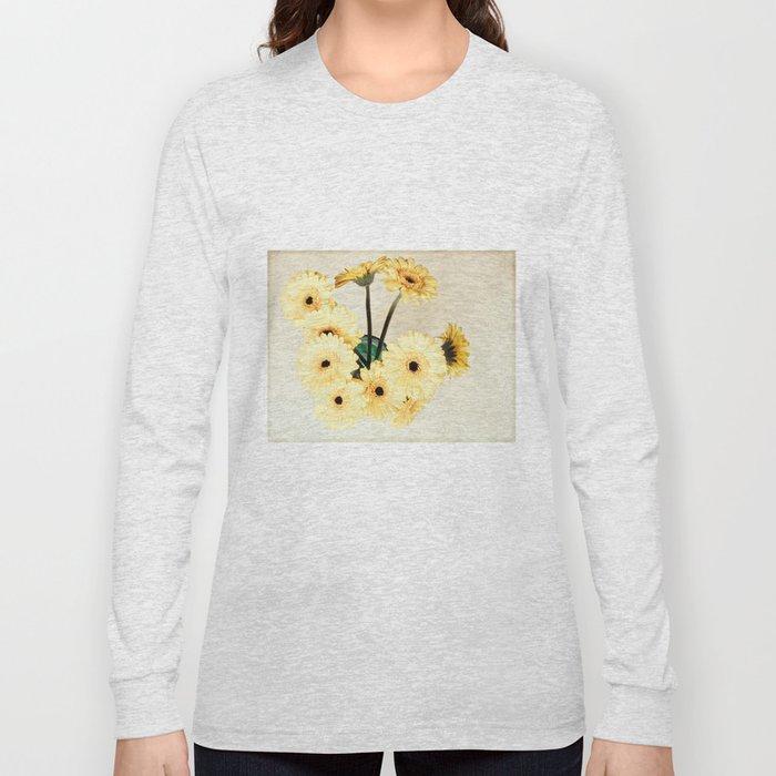 gerberas Long Sleeve T-shirt
