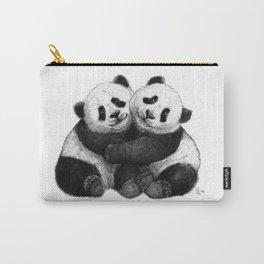 Panda's Hugs G143 Carry-All Pouch