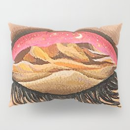 Pink sky invites you to the real world Pillow Sham