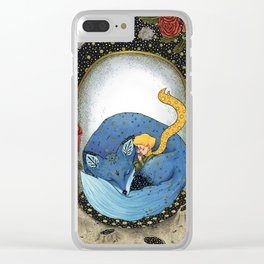 The little prince - Blue Version Clear iPhone Case