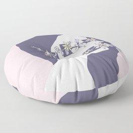 Encumbered Exploration of Existence (Hidden Sensibility) Floor Pillow