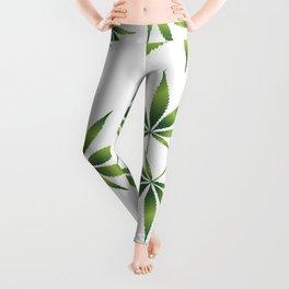 Marijuana Leaves Leggings