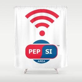 Pepsi Zone Shower Curtain