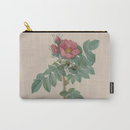 Rosa JP Redoute Carry-All Pouch