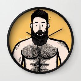 Beard Boy: Alejandro Wall Clock