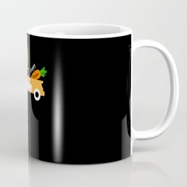 Happy Easter With Carrots and Truck Easter 2021 Coffee Mug