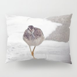 Greater Yellowlegs  Couple Stalk the Cameraman Pillow Sham