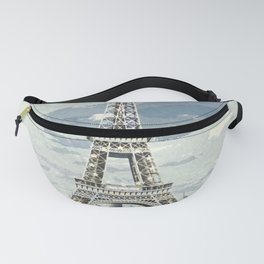 Paris, France / Vintage style poster Fanny Pack