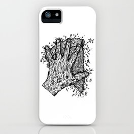 Slam That Pizza In Mah Face iPhone Case