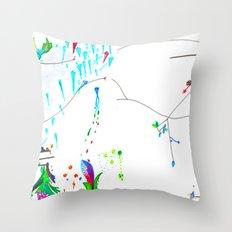 Secret Place Number 552 Throw Pillow