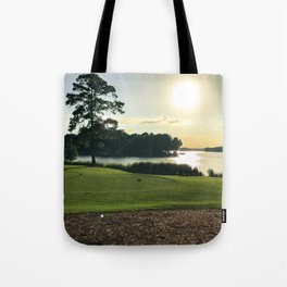 Sunset View from the Course Tote Bag