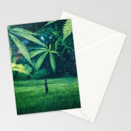Cannabis Forest Stationery Cards