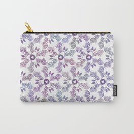 Art Nouveau Poppy Pattern Carry-All Pouch