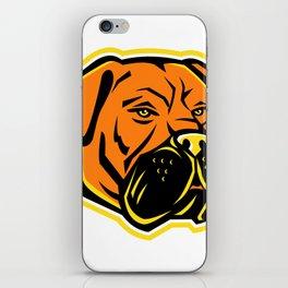 Bullmastiff Dog Mascot iPhone Skin
