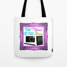 The Moral Of Our Stories Framed Logo Tote Bag