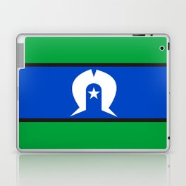 Torres Strait Islander people ethnic flag Laptop & iPad Skin