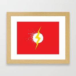 Square Heroes - Flash Framed Art Print