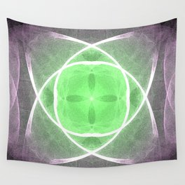 Lilac and Green Wall Tapestry