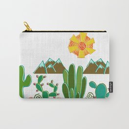 Southwest Sunshine Carry-All Pouch