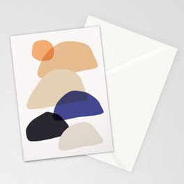 Abstraction_SUN_ROCK_LANDSCAPE_POP_ART_Minimalism_011SRL Stationery Cards