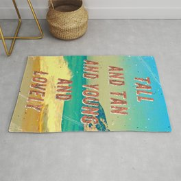 Girl from Ipanema #1 - A Hell Songbook Edition Rug