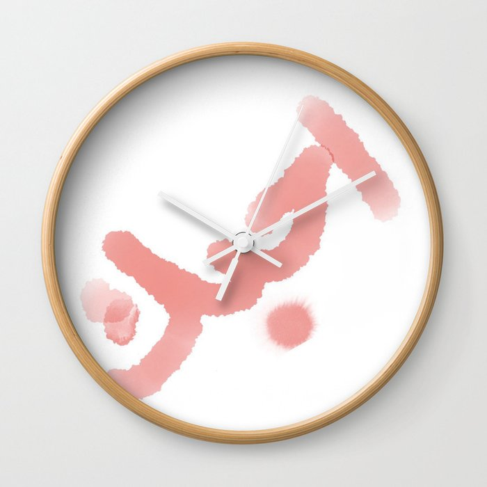 The Word I Love You In Arabic Wall Clock By Akeim Society6