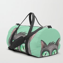 Peek a boo cat Duffle Bag