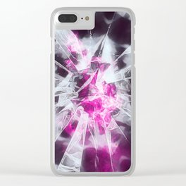 Shattered Love Clear iPhone Case