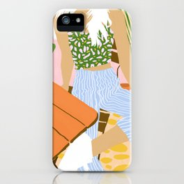 Kawa Tea #illustration #fashion iPhone Case