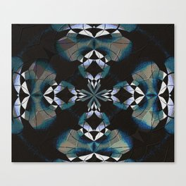 Healing Earth Mandala Canvas Print