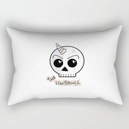 The Uniskull Rectangular Pillow