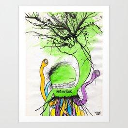 pimphand Art Print