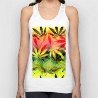 marijuana Tank Tops featuring Marijuana by SpecialTees