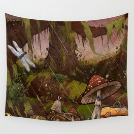 A Forest Alive Wall Tapestry