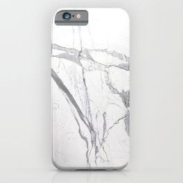 Marble White Winter  iPhone Case