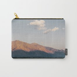 Sierra Mountains with Harvest Moon Carry-All Pouch