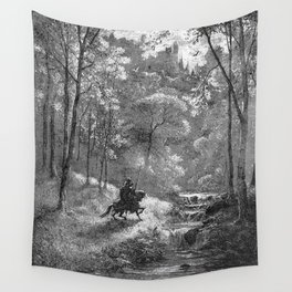 Don Quijote Wall Tapestry