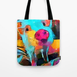 Mini Pig Tote Bag